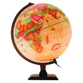 Bradley Illuminated Globe