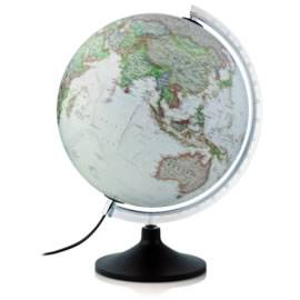 Carbon Executive Illuminated Desk Globe