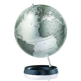 Expression Silver Contemporary Globe