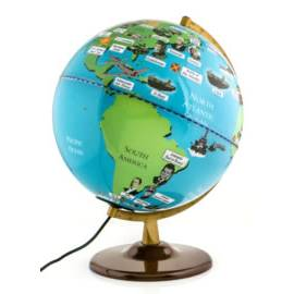 Second World War Light Up Globe