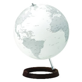 Reflection Contemporary Desk Globe