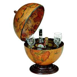 Table Top Bar Globe