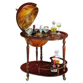 Luxury 40cm Floor Standing Bar Globe