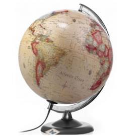 Atmosphere Antique Illuminated Globe