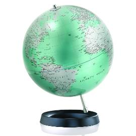 Expression Green Contemporary Globe