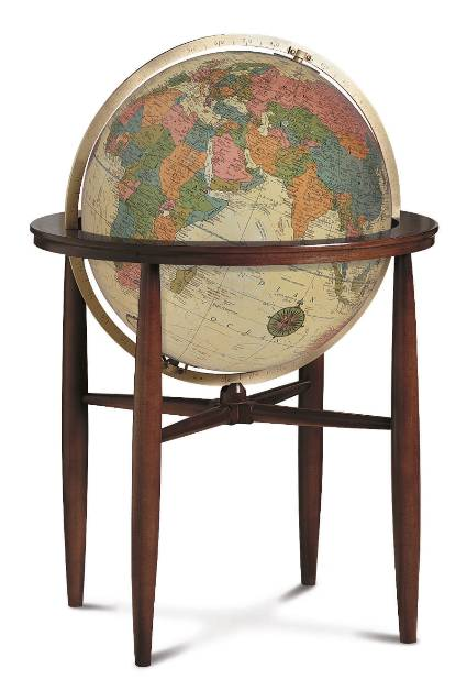 Click to enlarge floor globe image