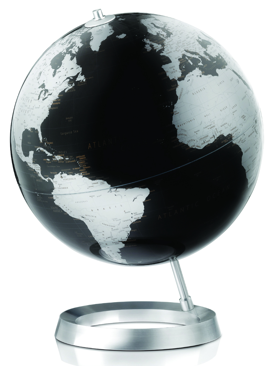 Contemporary Black Desk Globe Buy Here