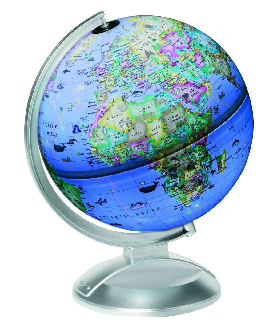 Globe4kids Illuminated Globe Educational Globe For Children