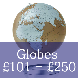 Globes Priced Between £101 and £250