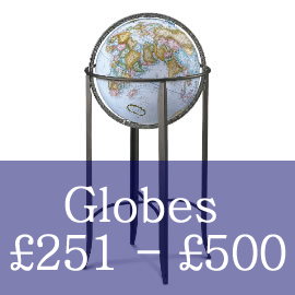 Globes Priced Between £251 and £500
