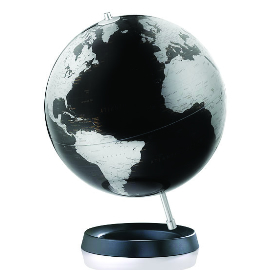 Expression Black Desk Globe