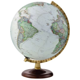 Gold Exec Non-Illuminated Globe