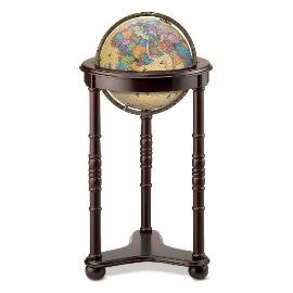 Lancaster Illuminated Floor Globe