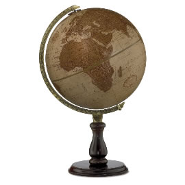 Leather Expedition Globe