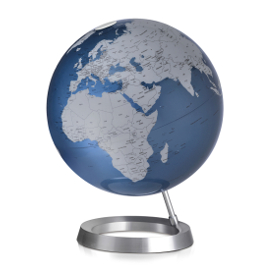 Midnight Blue  Contemporary Desk Globe