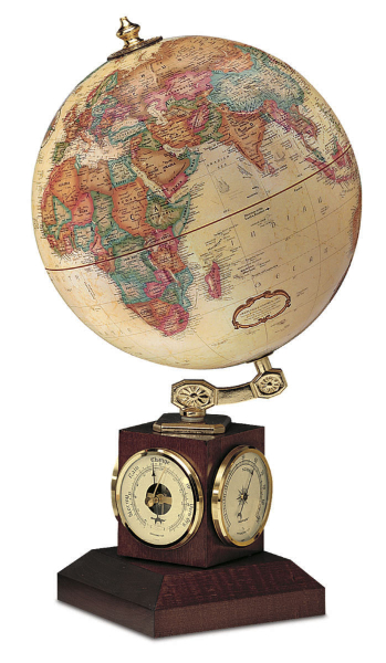 A globe with lots of interesting functions