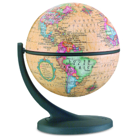 Wonder Globe Antique Desk Globe