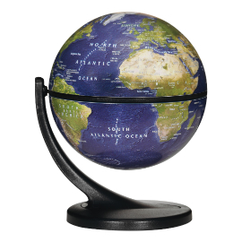 Wonder Globe Satellite Desk Globe